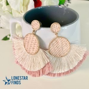Jewelry - Fringe Tassel Statement Earrings Boho Festival